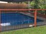 Ex vinyl liner pool restored with EPOTEC Royal Blue in Mackay QLD 2016