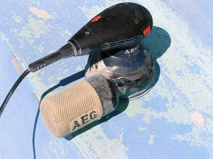 Orbital Sander such as AEG from Bunnings